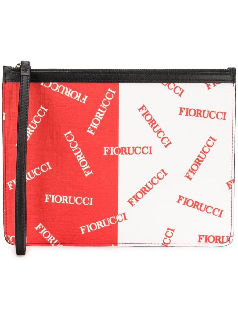 Fiorucci Clutch - Red/white