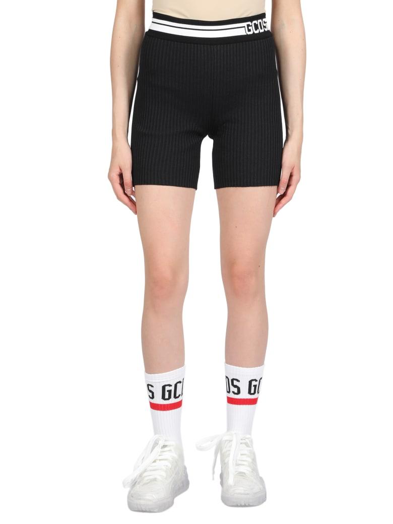 GCDS Knit Shorts - Nero