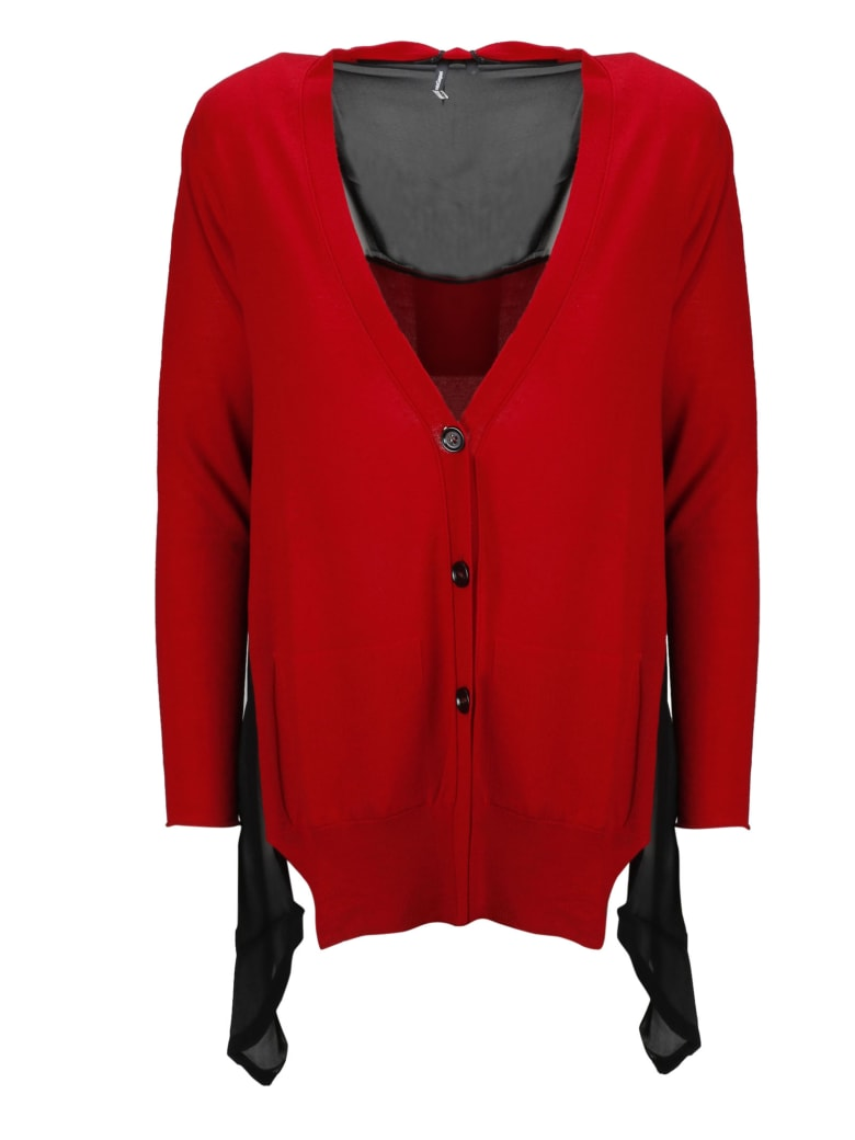 PierAntonioGaspari Cardigan - Red