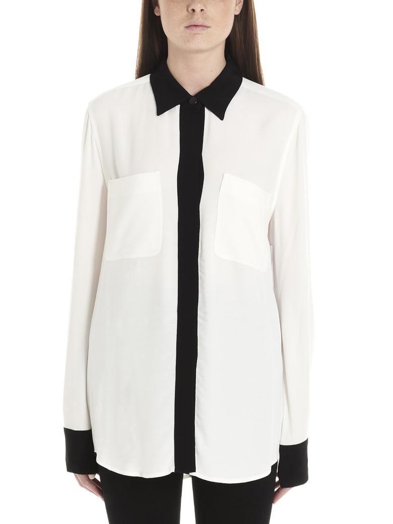 Equipment 'austine' Shirt - Black&White