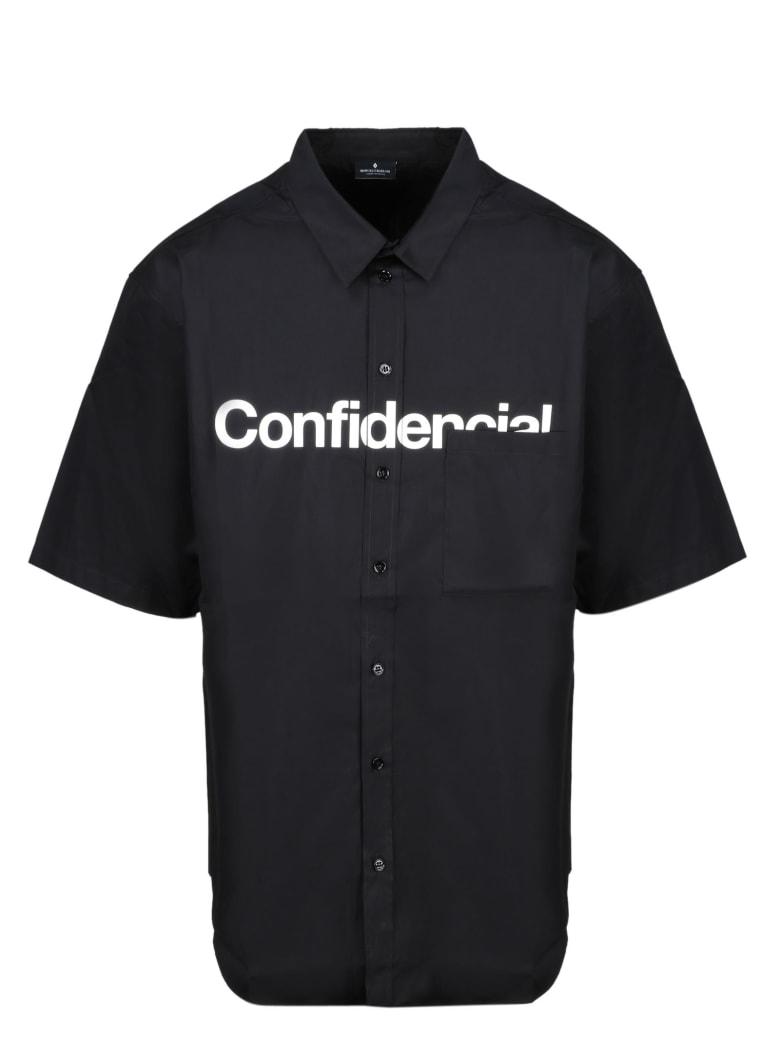 Marcelo Burlon Confidential Oversize Shirt - Black