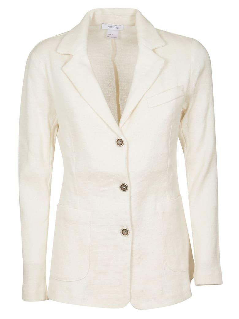 Avant Toi Classic Fit Blazer - White