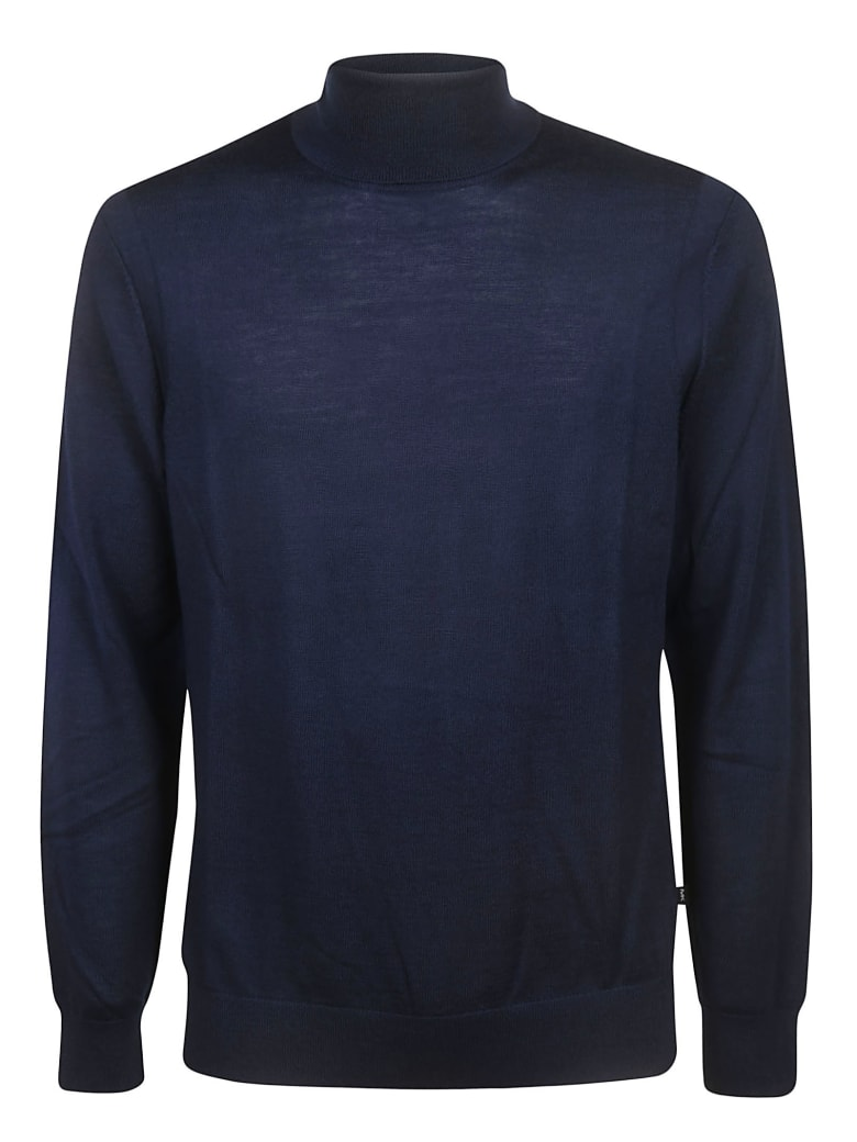 Michael Kors Roll-neck Sweater - navy