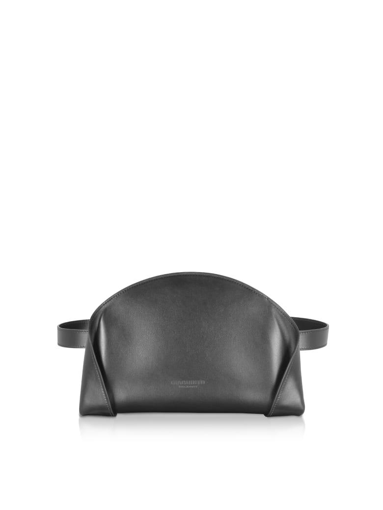 Giaquinto Freya Black Belt Bag - Black