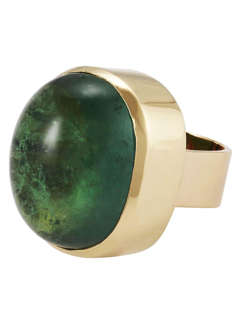 Lo Spazio Jewelry Lo Spazio Eden Rock Ring - Green
