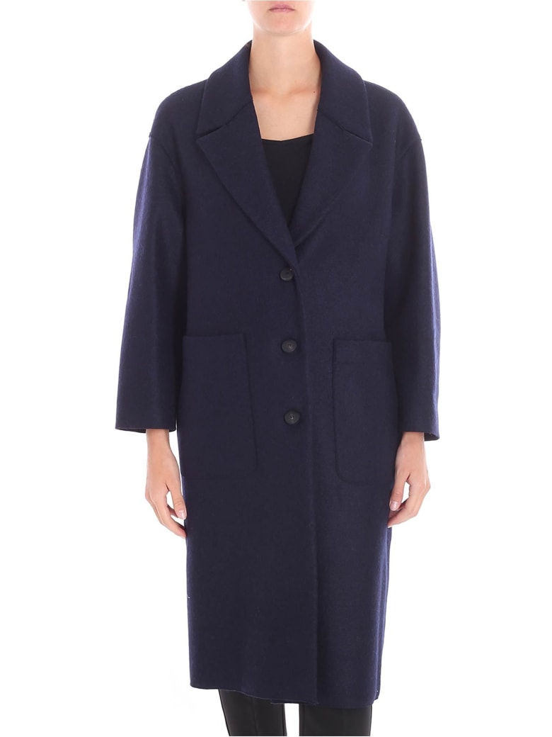 Harris Wharf London - Coat - Blue