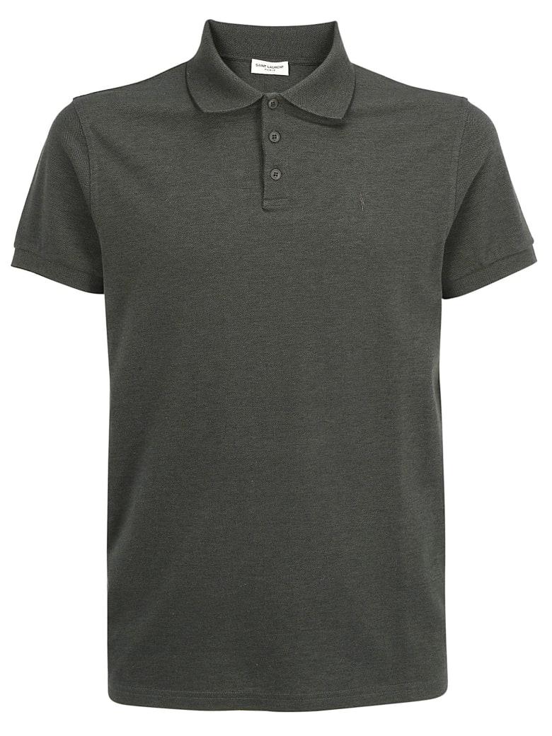 Saint Laurent Polo Shirt - Anthracite