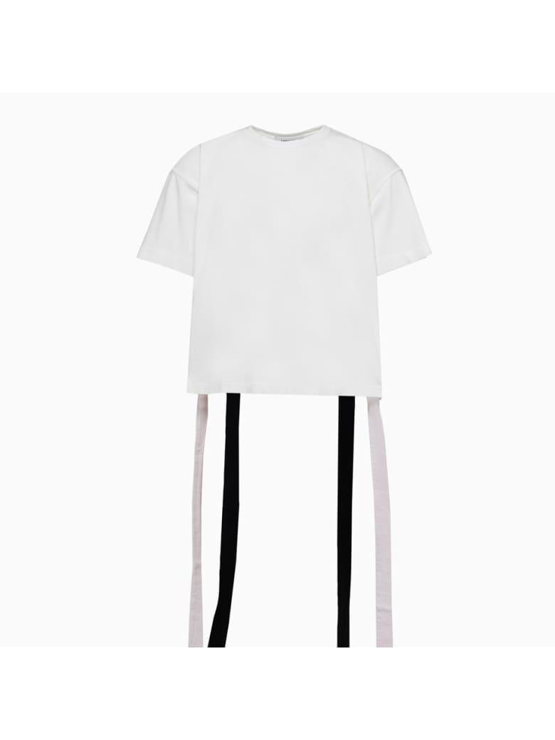 AMBUSH Obi Belt T-shirt 12112073 - Bianco