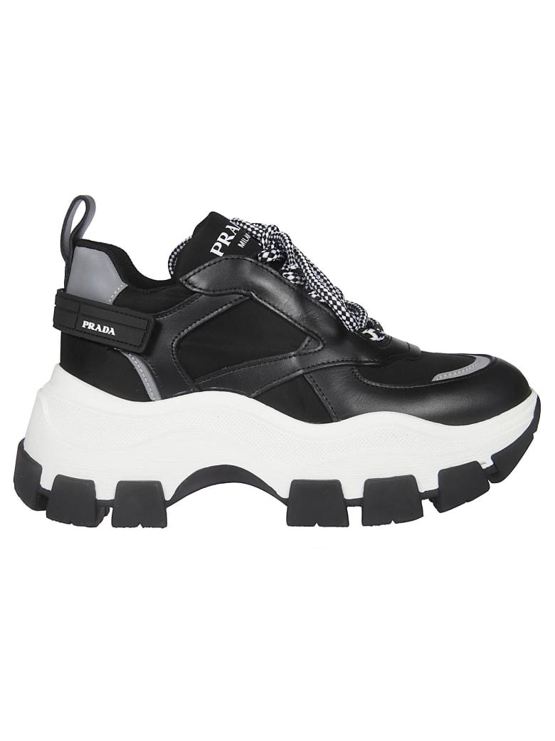 Prada Prada Logo Platform Sneakers