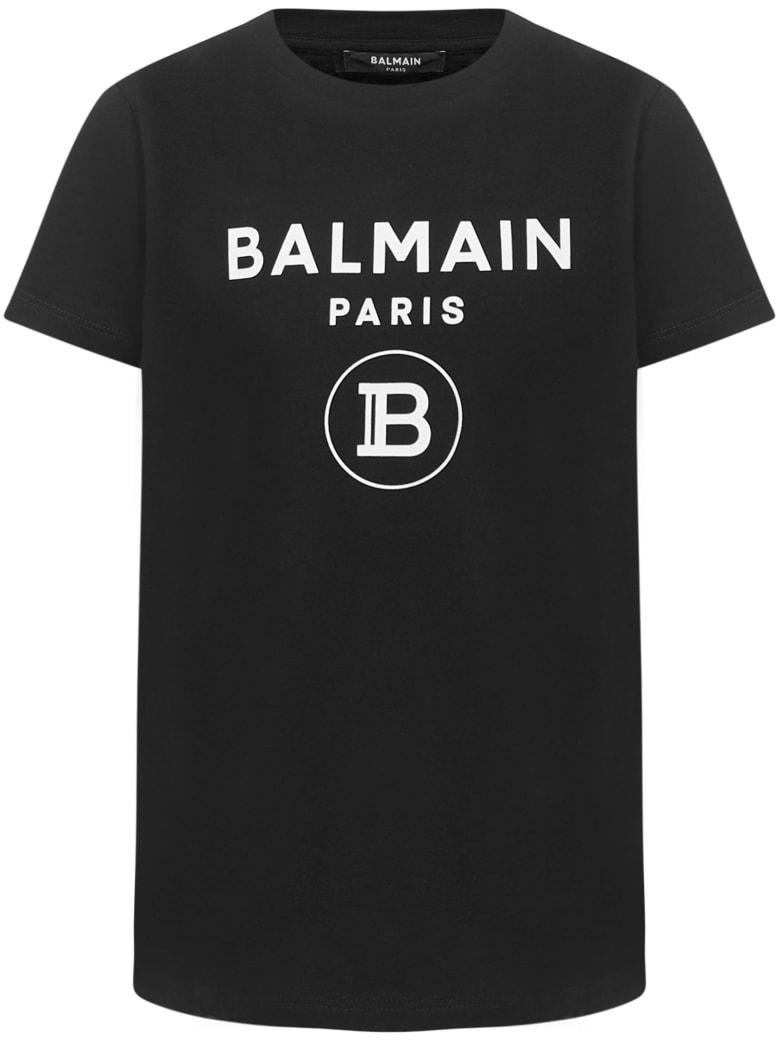 Balmain Paris Kids T-shirt - Black