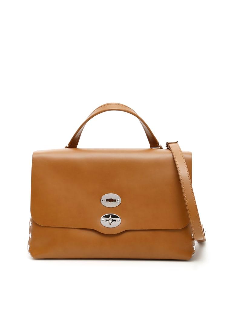 Zanellato Original Silk Postina M Bag - CUBA (Brown)