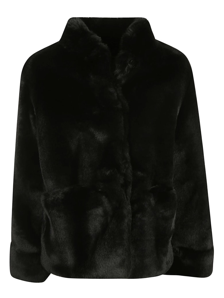 Emporio Armani Blouson Jacket - Black