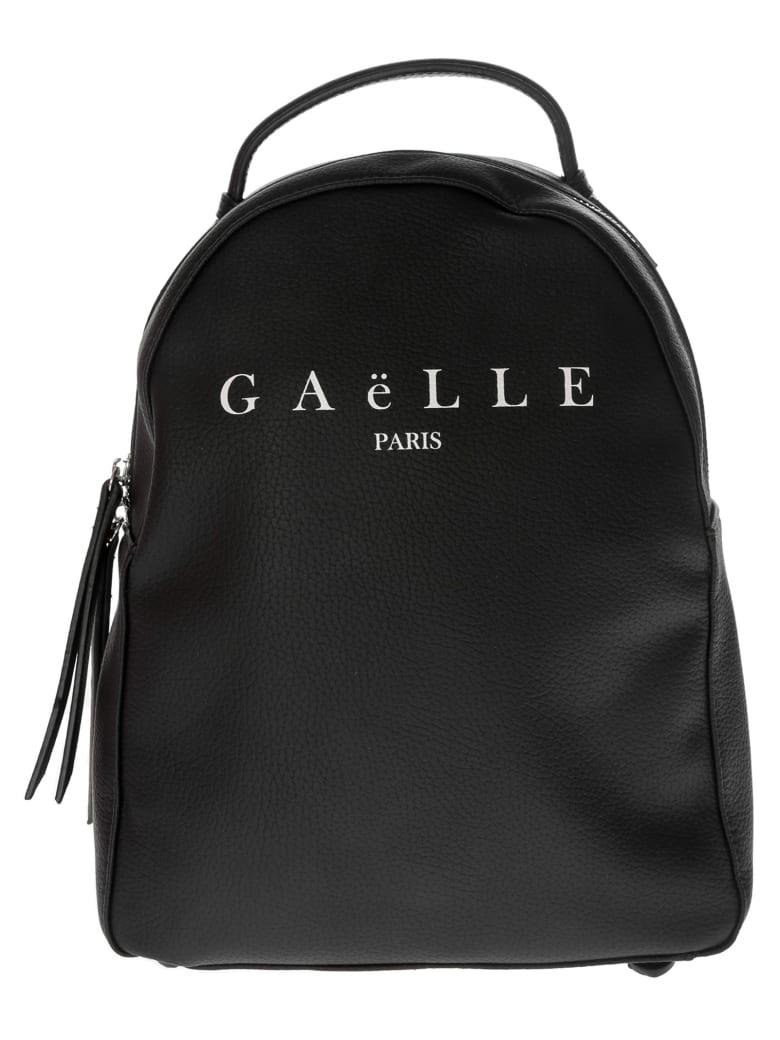 Gaelle Bonheur Printed Logo Backpack