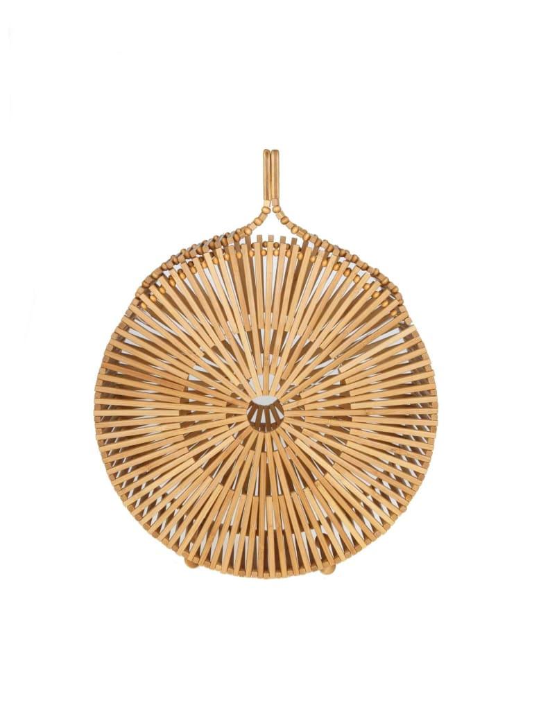Cult Gaia Hand Bag Zaha In Bamboo - NATURAL