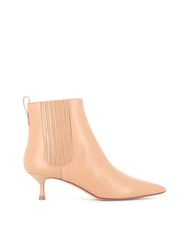 Francesco Russo Ankle Boot - Beige
