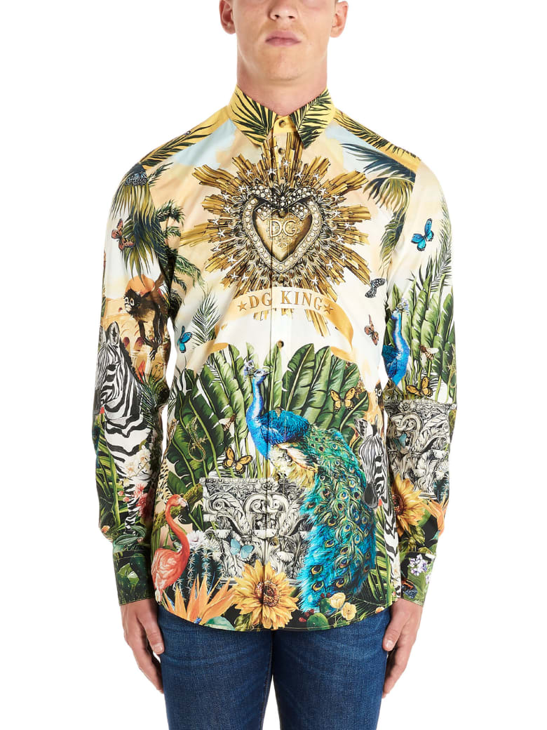 Dolce & Gabbana 'latin King' Shirt - Multicolor