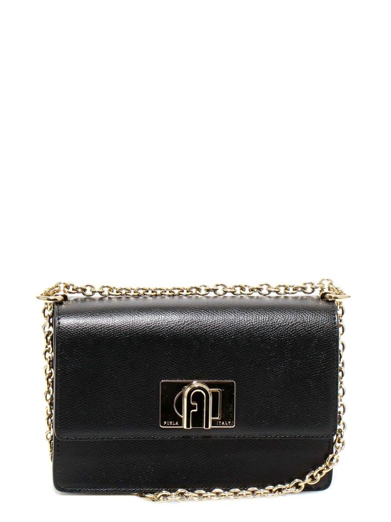 Furla 1927 Shoulder Bag - Black