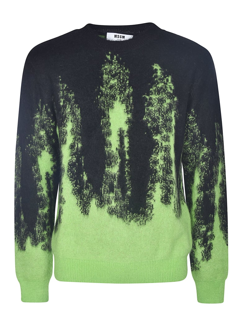 MSGM Ribbed Sweater - VERDE