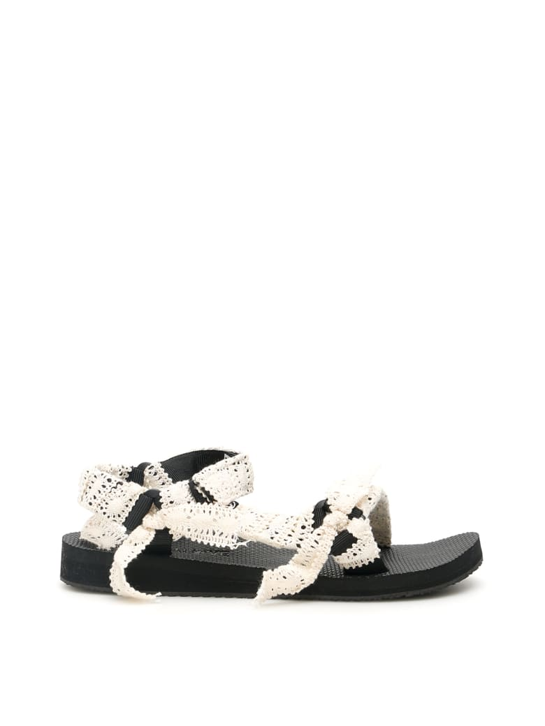 Arizona Love Bandana Trekky Sandals - LACE (White)