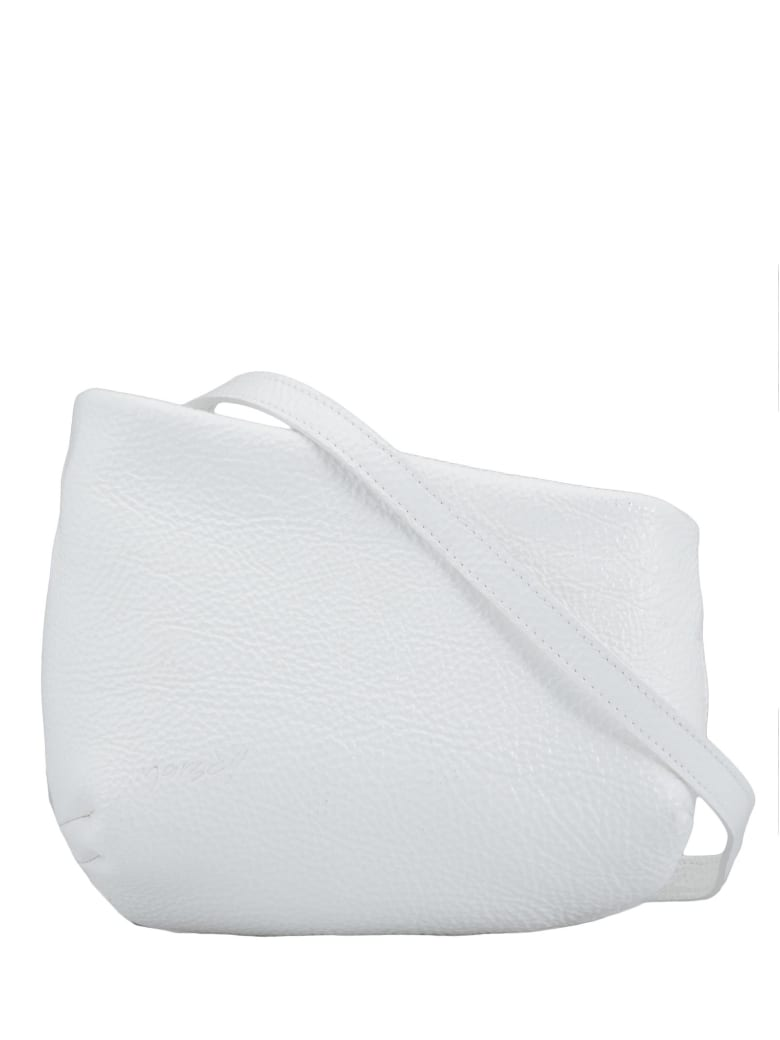 Marsell Leather Clutch - WHITE