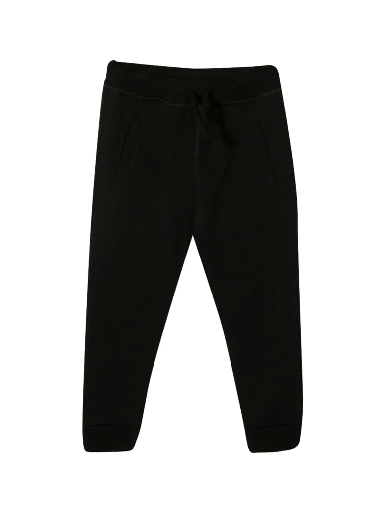 Dsquared2 Sporty Black Trousers - Nera