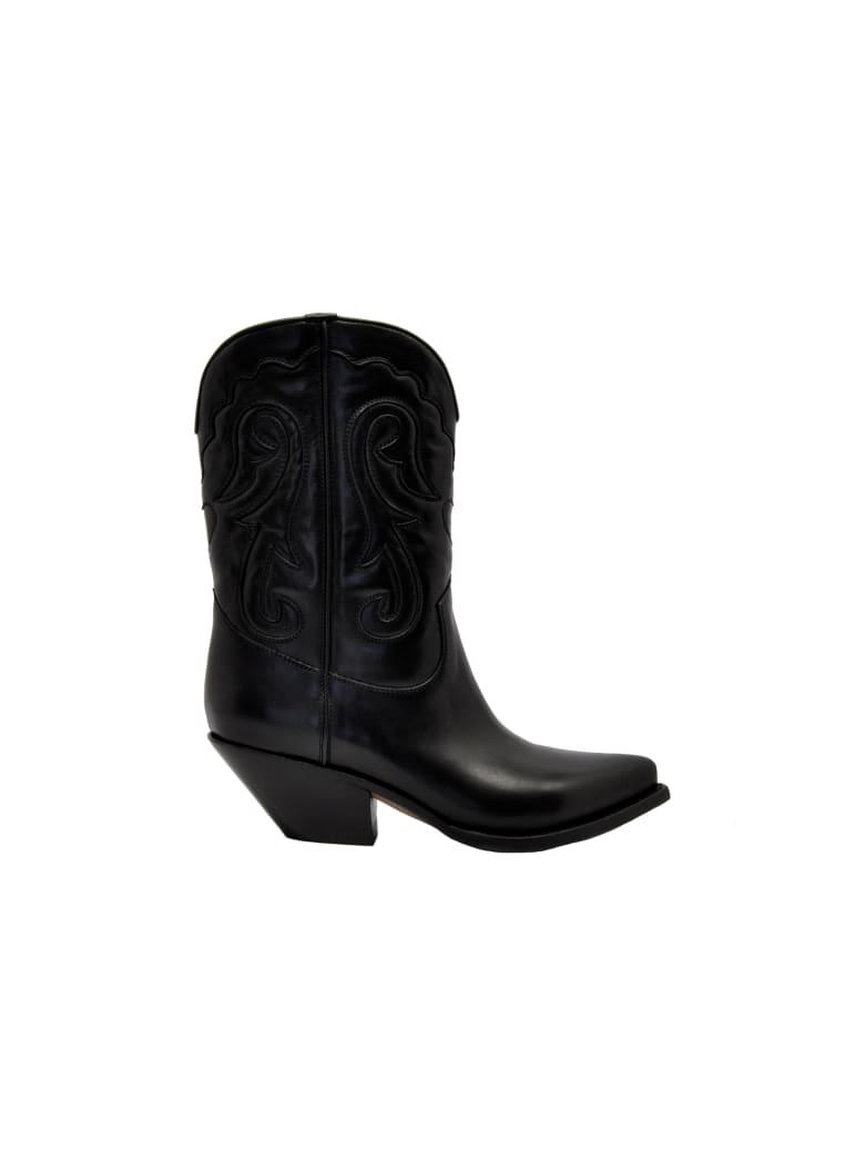 Buttero Ciabette Western Boots - Nero