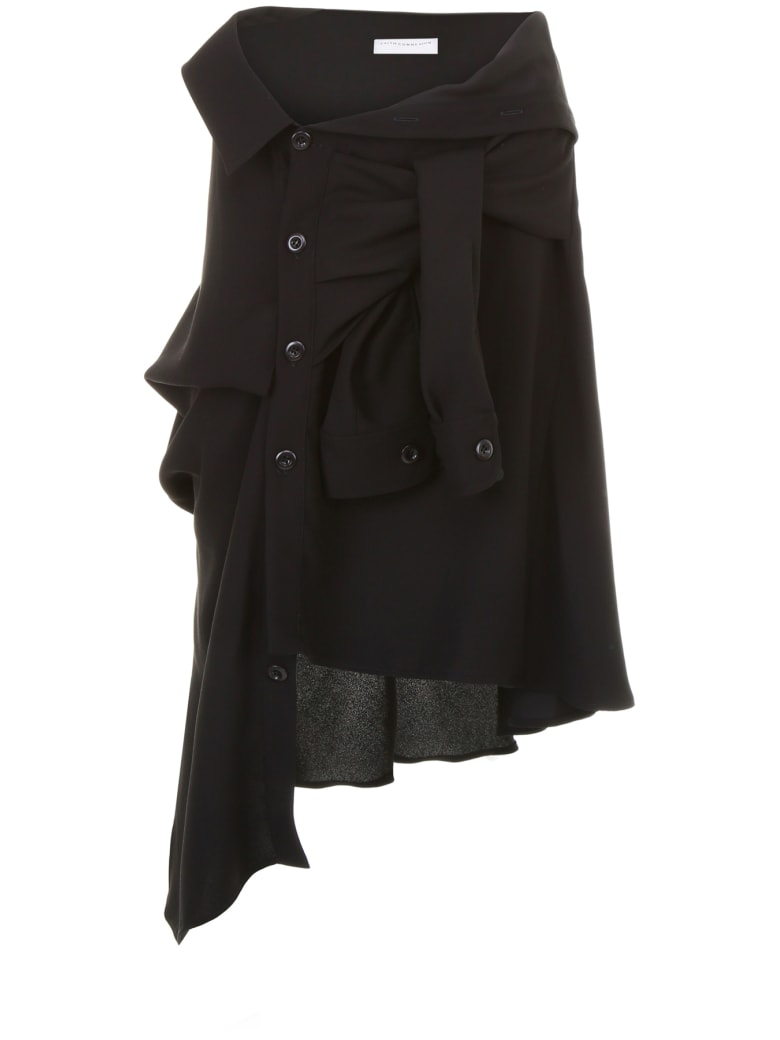 Faith Connexion Midi Skirt - BLACK (Black)