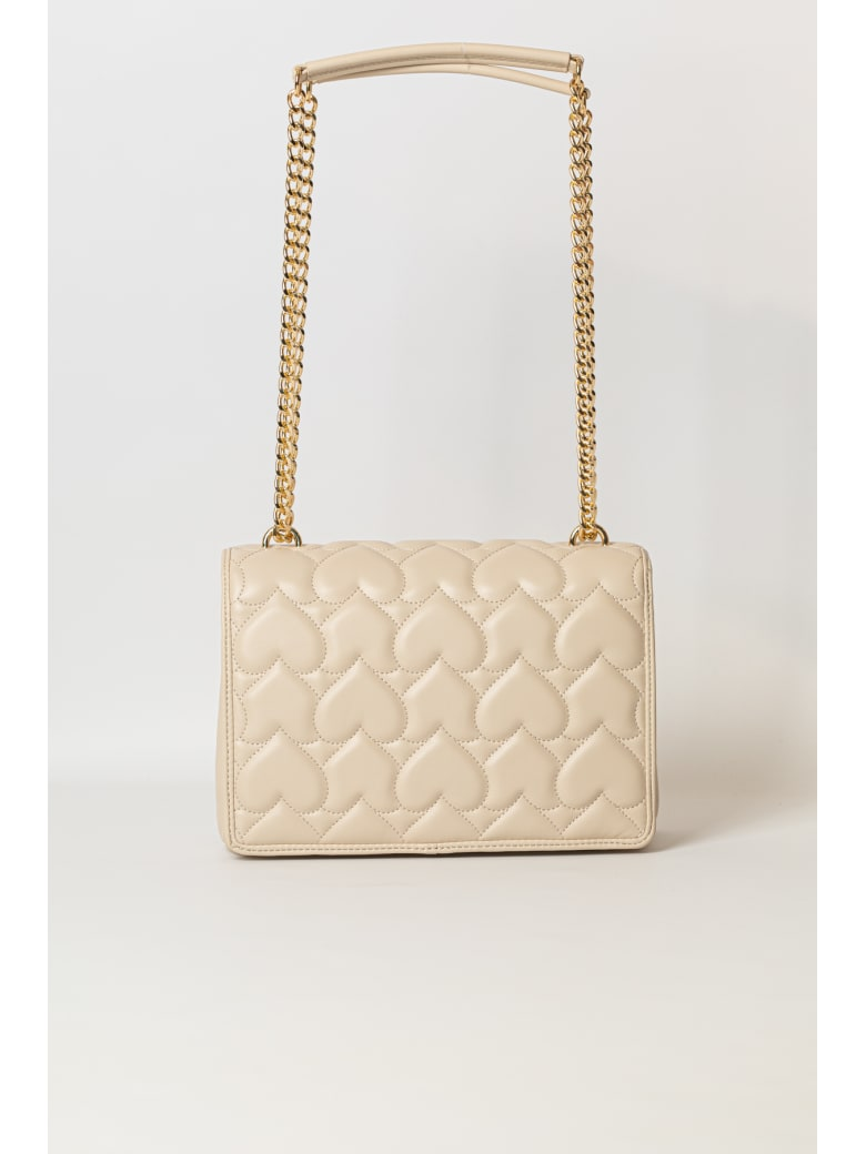Love Moschino Shoulder Bag - BEIGE