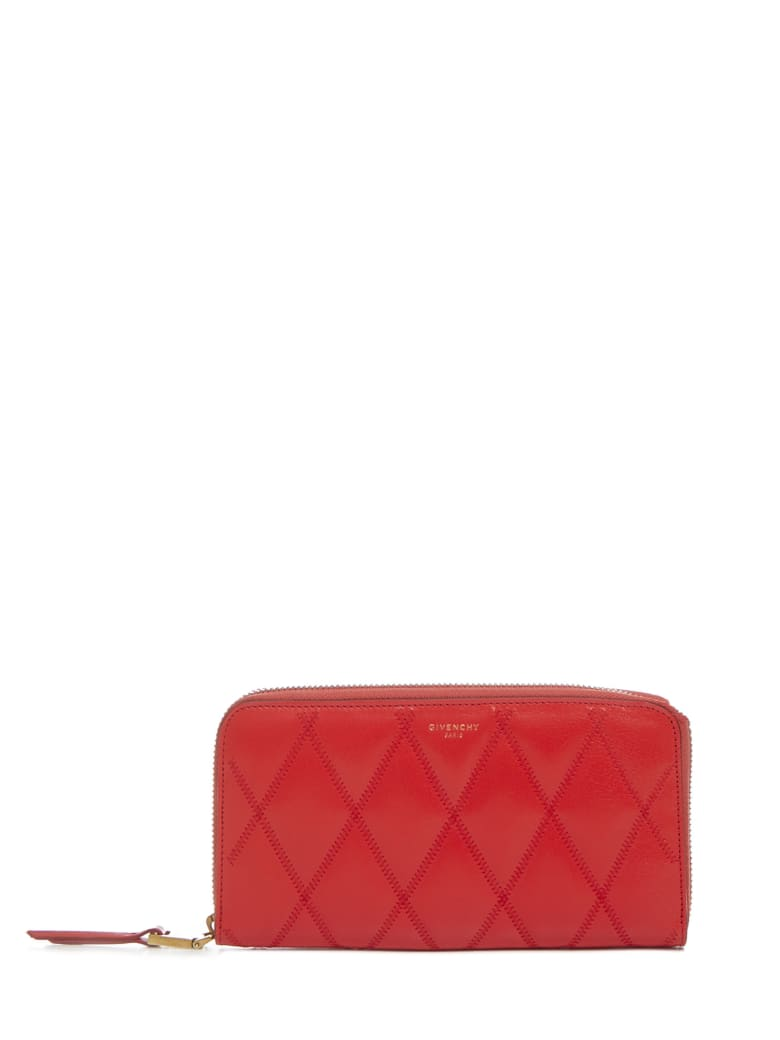 Givenchy Gv3 Wallet - Red