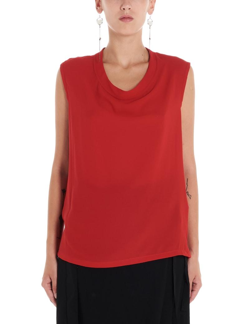 Ann Demeulemeester Top - Red