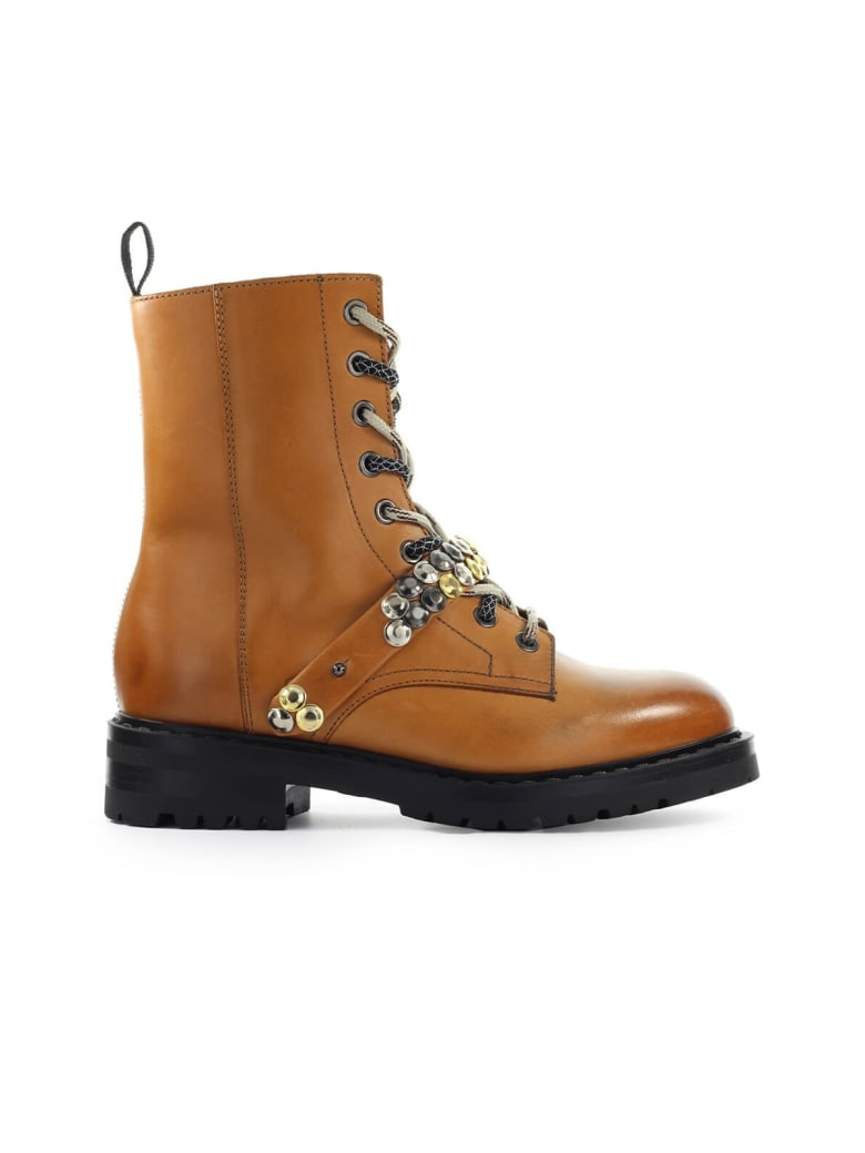 Barracuda Camel Combat Boot - Cammello (Leather)