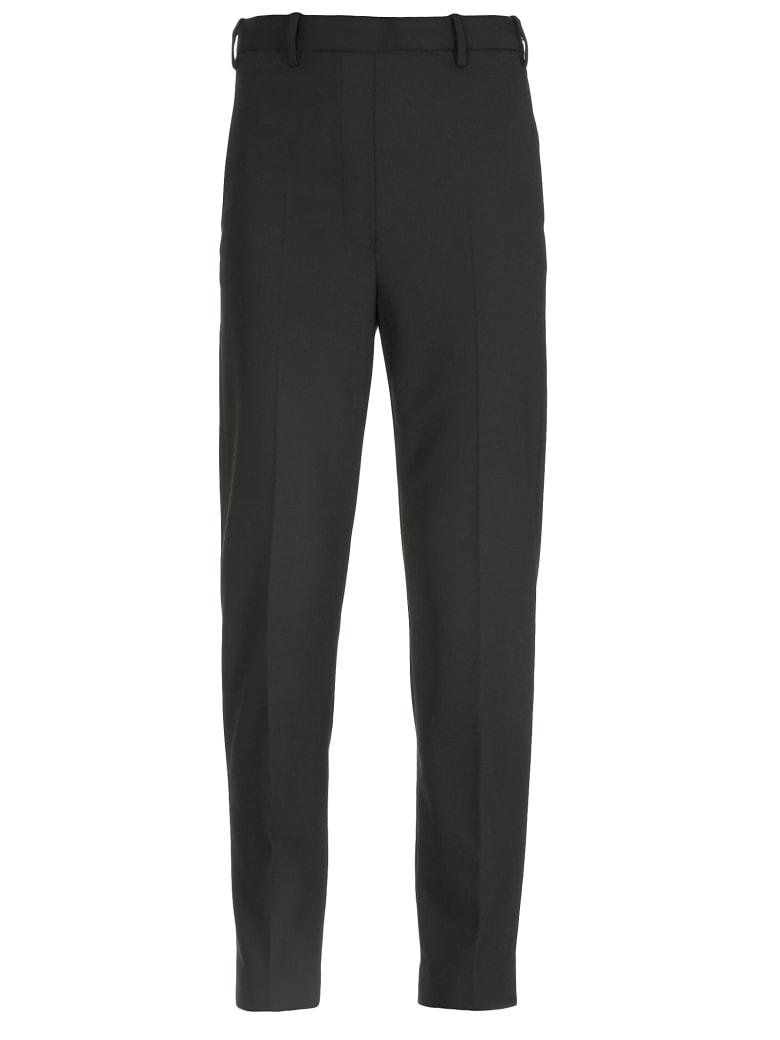 Neil Barrett Blend Wool Trousers - BLACK