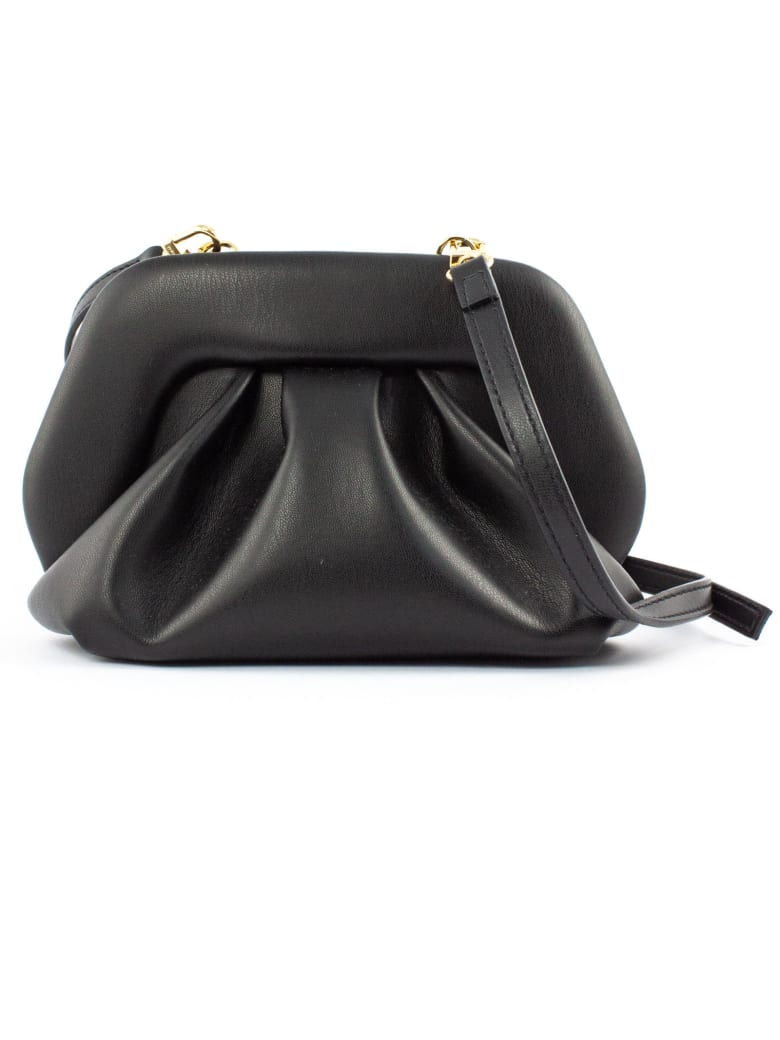 THEMOIRè Black Clutch Bag In Nappa Eco-leather - BLACK