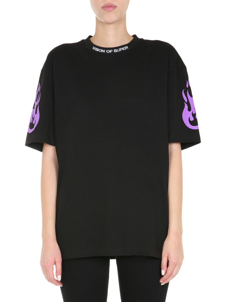 Vision of Super Fire T-shirt - NERO
