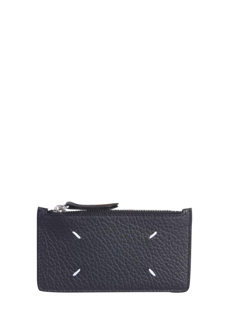 Maison Margiela Leather Card Holder - NERO