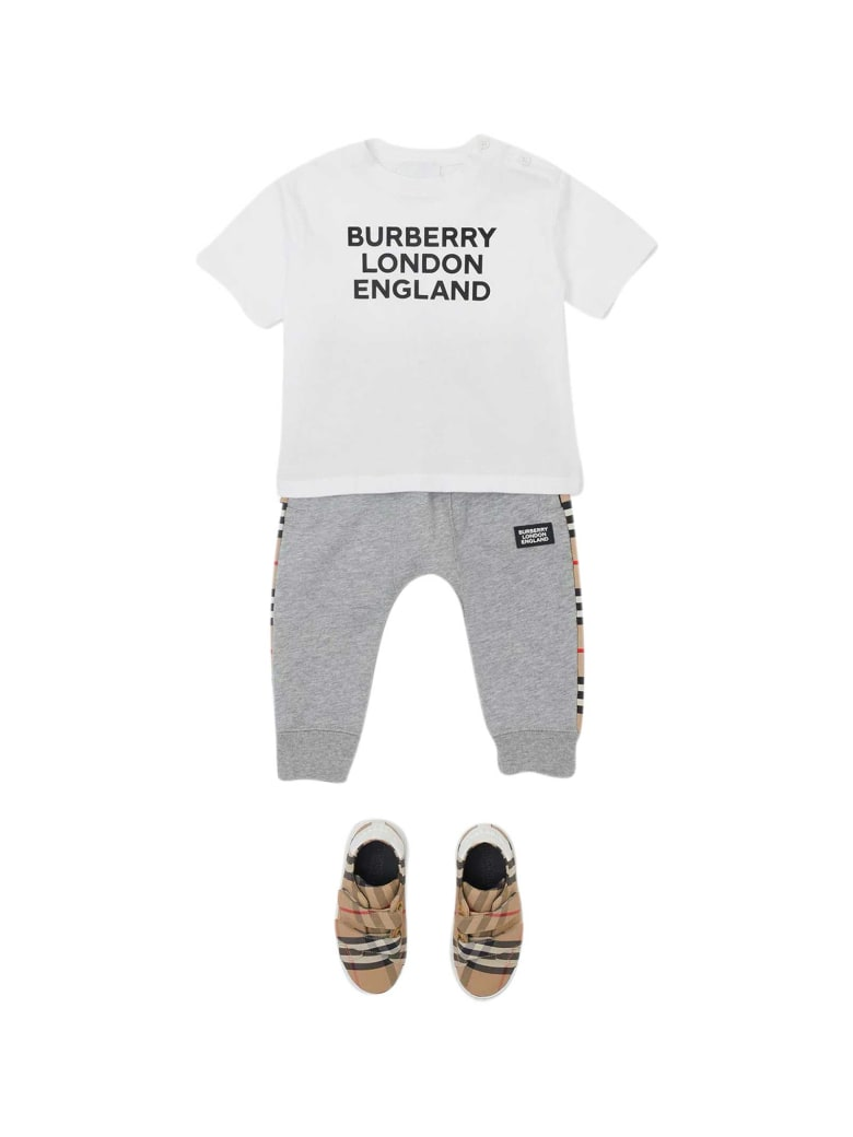 Burberry White T-shirt - Bianco