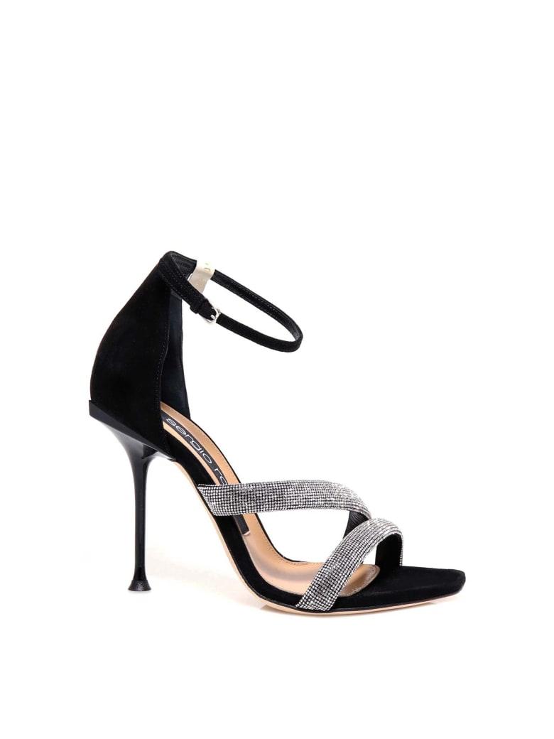 Sergio Rossi Sr Milano 105 Sandals - Black