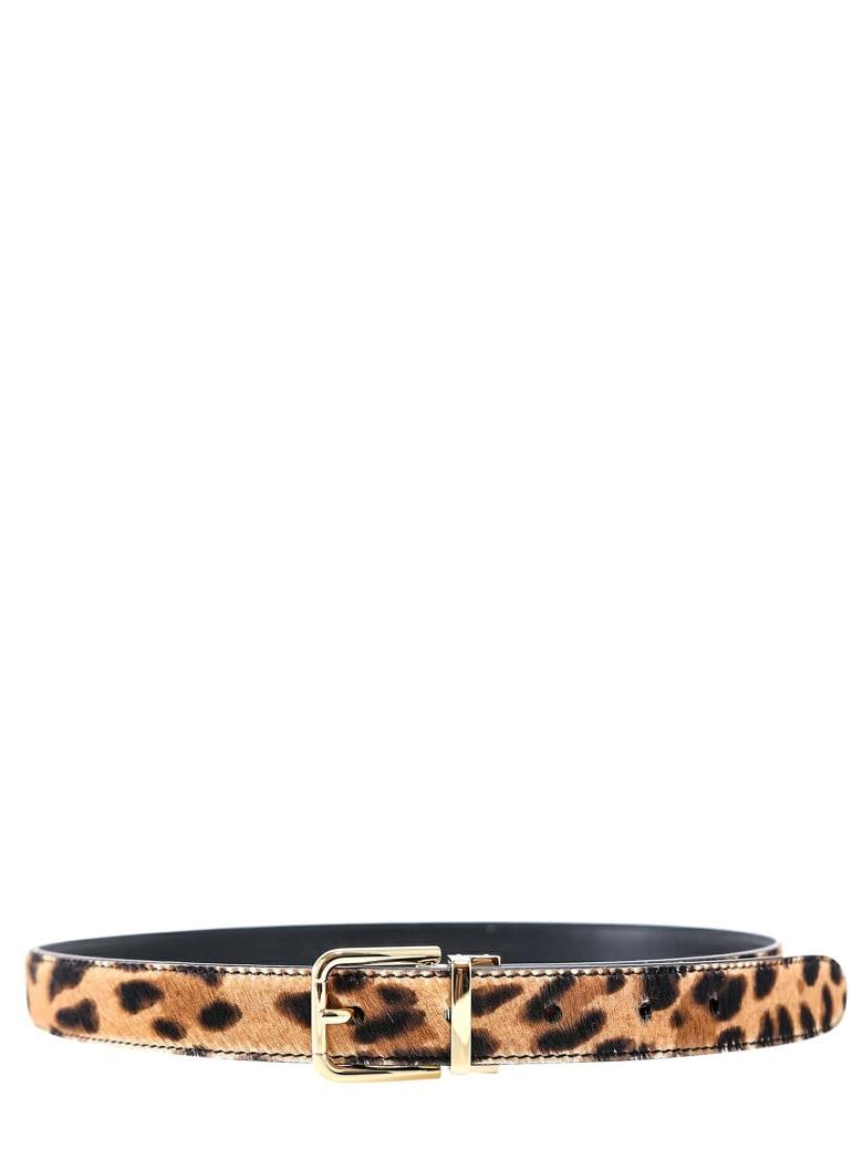 Dolce & Gabbana Belt - Brown