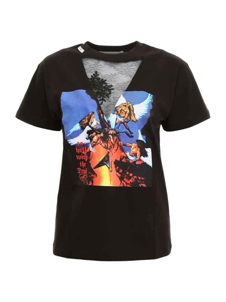 Forte Couture Angel T-shirt - BLACK (Black)