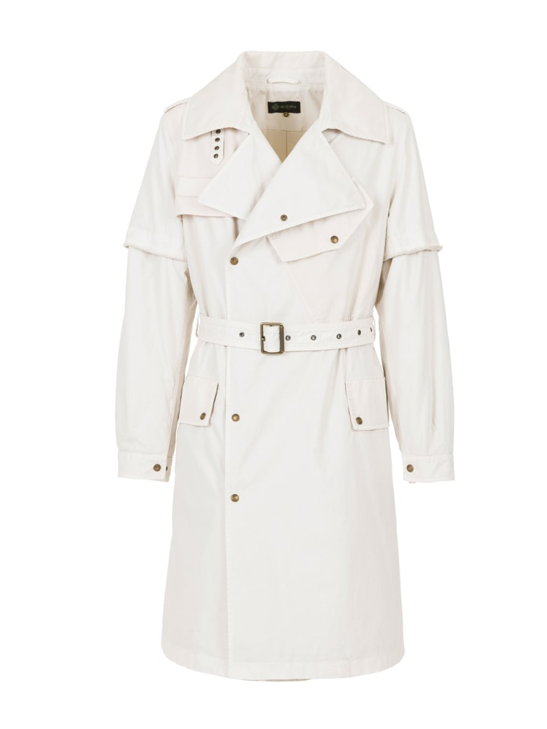 Mr & Mrs Italy Nick Wooster Capsule Unisex Trench In Cotton - MOON BEAN / MOON BEAN
