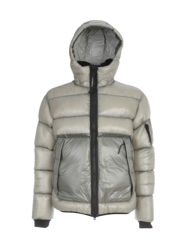 C.P. Company Medium Down Jacket W/hood - Grey