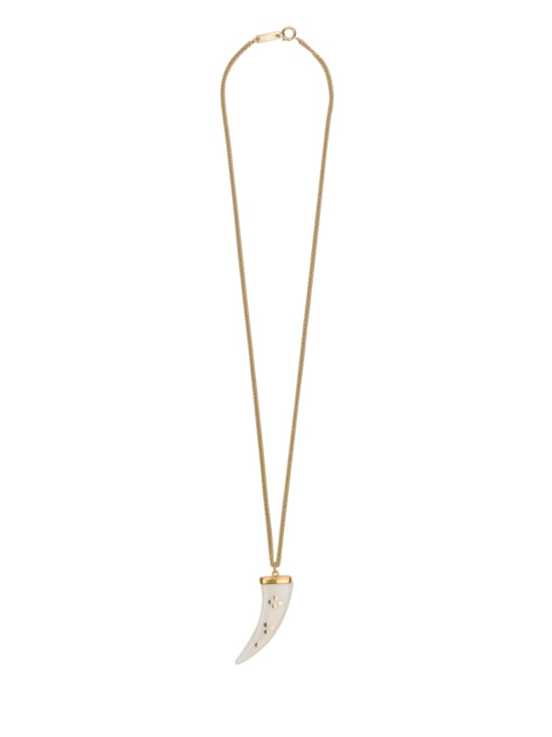 Isabel Marant Necklace With Charm - Beige