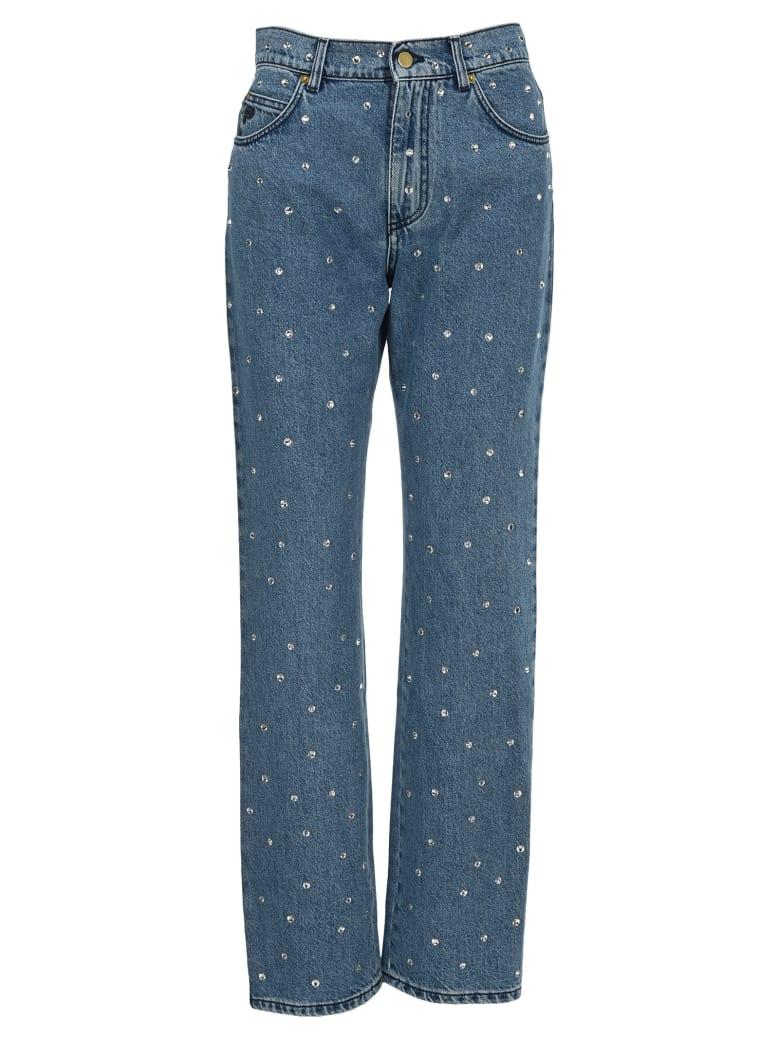 Philosophy di Lorenzo Serafini Philosophy Rhinestone Embellished Jeans - LIGHT BLUE