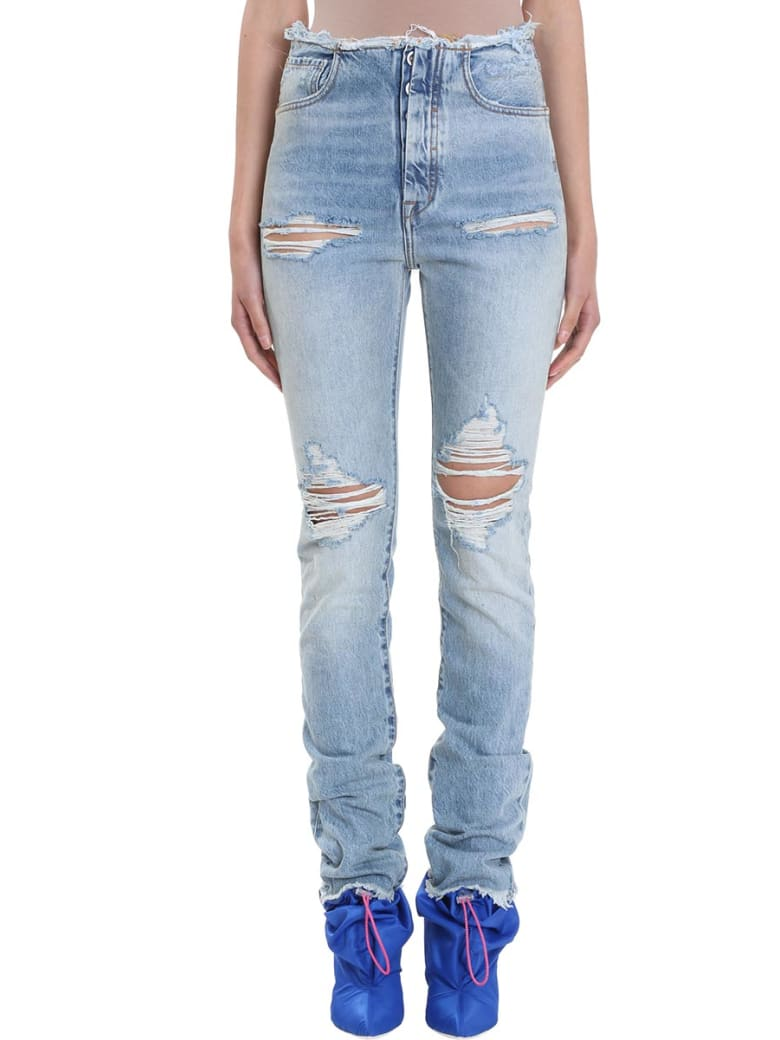 Ben Taverniti Unravel Project Stone 20 Destroyed Jeans - blue