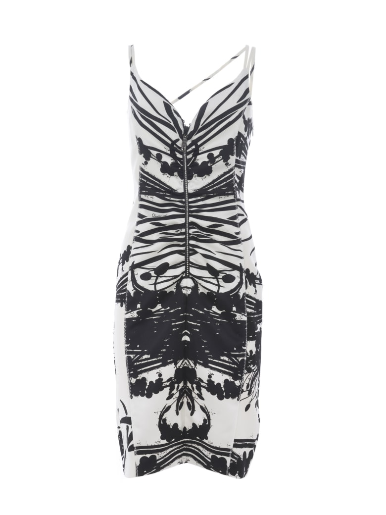 CLASS Roberto Cavalli Dress - Bianco/nero