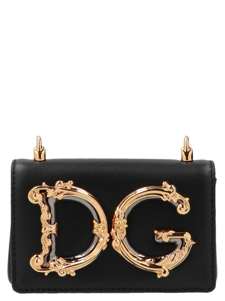 Dolce & Gabbana 'dg Girl' Nano Bag - Black