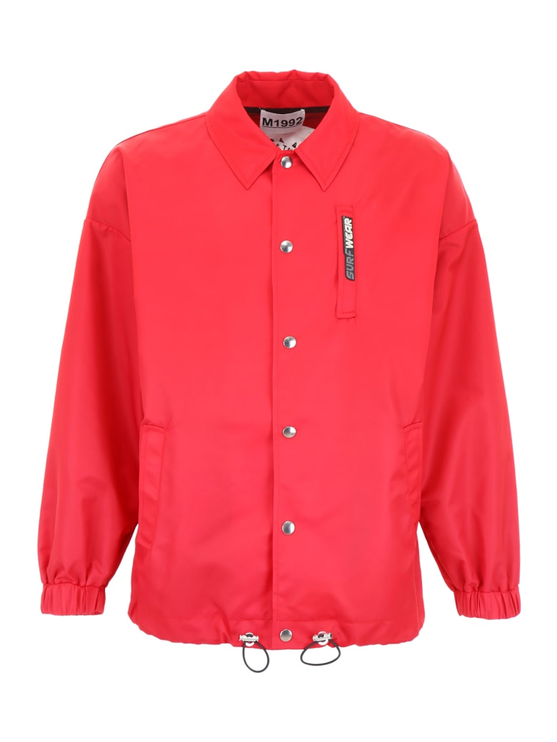 M1992 Nylon Jacket - RED (Red)