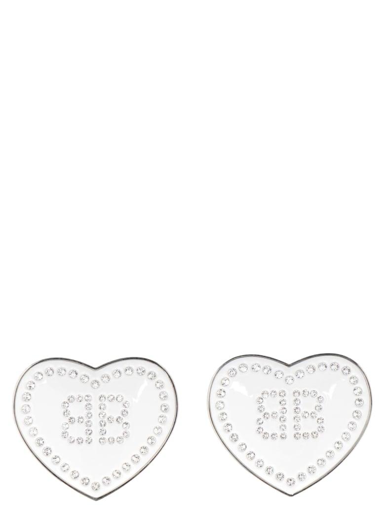 Balenciaga 'crush' Earings - White