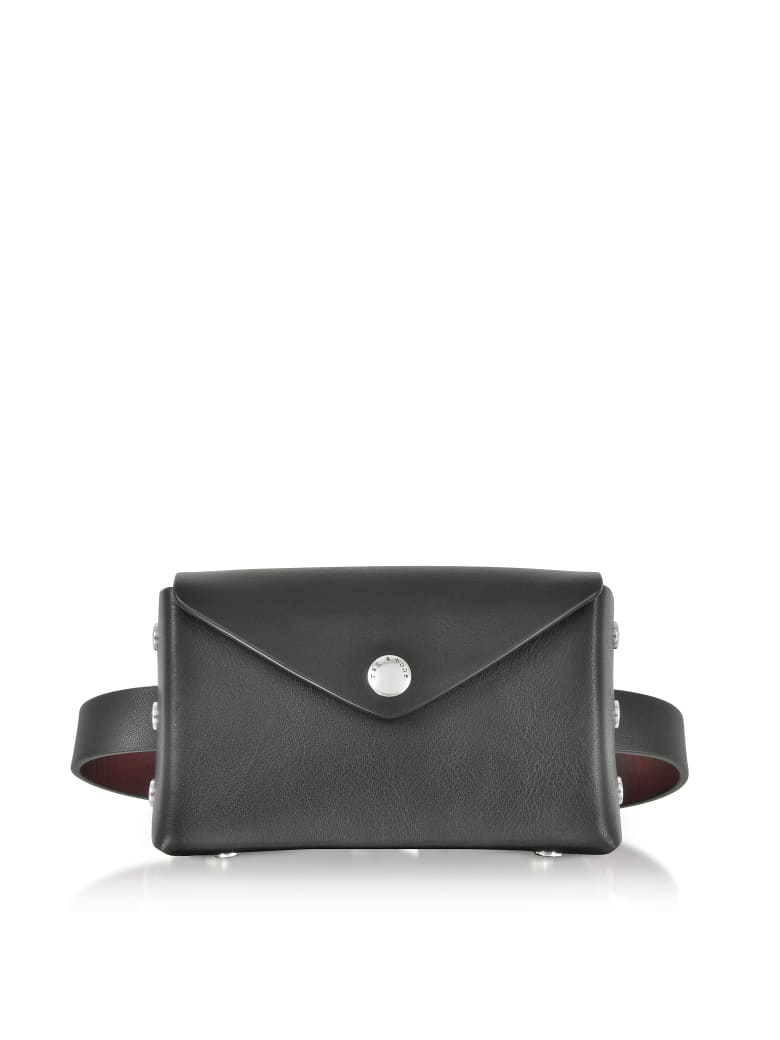 Rag & Bone Small/medium Color Block Leather Atlas Belt Bag - Black