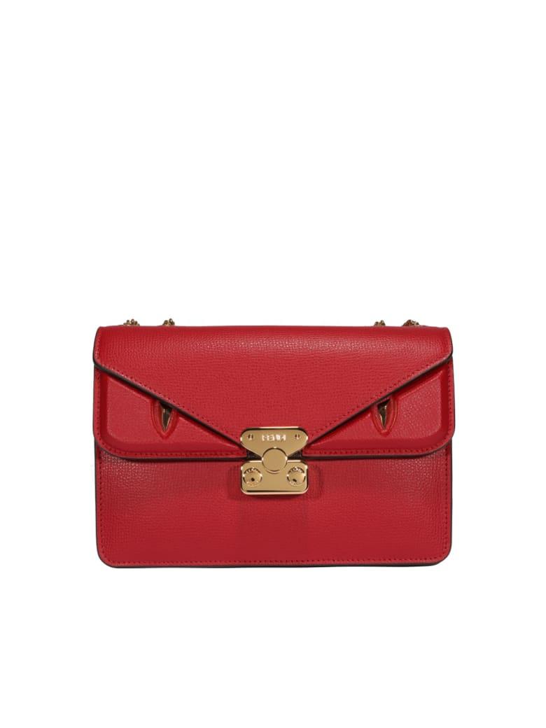 Fendi Medium Bag Bugs Bag - Red